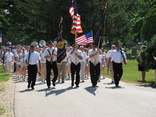 Memorial Day Program in Washington, IL