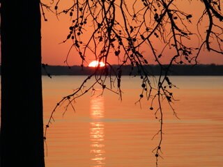Rend Lake Sunset