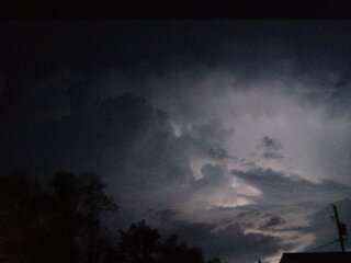 May 3 Storm Moving into Chillicothe