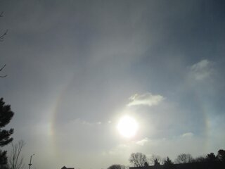 Sun Dog in Bloomington Friday