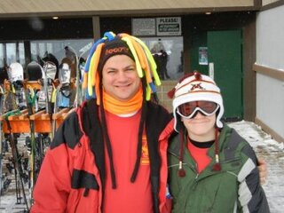 HITTING THE SLOPES--JUST ME AND MY DAD