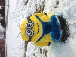 Despicable Spring Snow