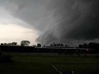 Scary clouds in Wyoming, IL