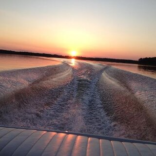 Clinton Lake Boat Ride