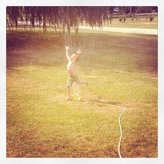 Summer Sprinkler Fun!