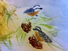 Water Color Birds