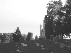 Springdale Cemetery Spooky Late Fall Afternoon