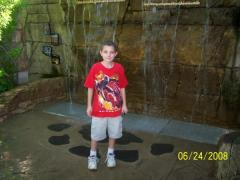 Brandon's first time at St. Louis Zoo