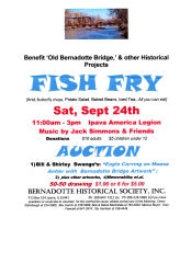 Benefit for the Old Bernadotte Bridge