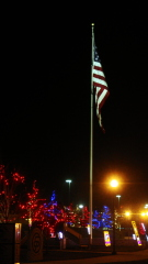 Old Glory at Night