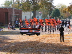 WCHS Performs at Metamora Parade