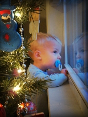 Waiting for Santa!