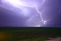 Lightning, Outflow and Rain