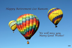 Happy Retirement lee Ranson