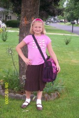 First day of 2nd grade