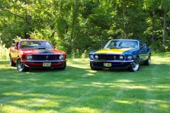 Father and Son share love of Mustangs