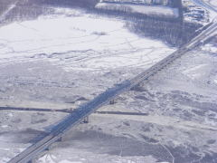 A Very COLD McClugage Bridge