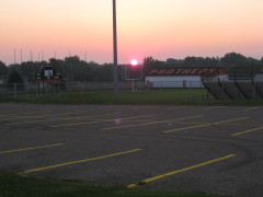 Sunrise over WCHS