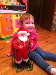 Even Santa Needs a Little Bling!! :)