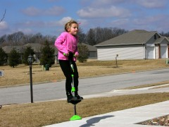 Managing the pogo stick