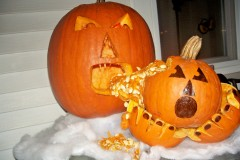 My 2009 Pumpkin Creation