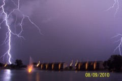 Lightning From Across the Lake/Cape Cod