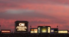 Sunset at the 2008 Rose Bowl Game