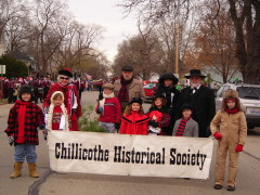 Chilli Historical Society's parade entryChilli Historical Society's parade entry
