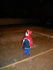The 1st snow fun