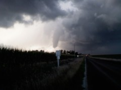 Lexington, Illinois funnel cloud