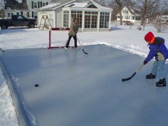 Hockey in the Backyard