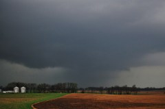 Friday tornado near Bishop Illinois
