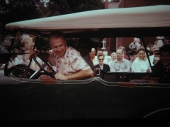 WEEK Weatherman in 1955 Eureka Parade