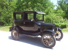 An Original 1924 Model T Tudor Sedan