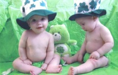 St Patty's Twins