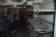 LST 325 sleeping area