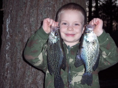 Spring has Sprung, crappie are biting