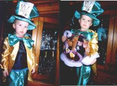 Colby as the Mad Hatter