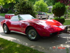 Coolest Car Contest '73 Stingray