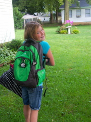 McKenna's First day of Jr High