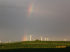Rainbow & Windmills