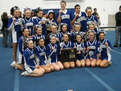 IHSA Sectional Cheerleading Champions