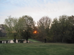 Sunrise in Hallock Township