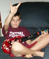 The best guitar hero player ever!