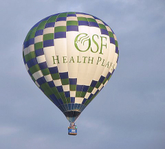 OSF hot air baloon