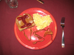 Veteran's Day breakfast for my husband