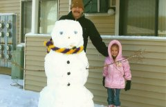 My Daddy, Mr. Snowman, and Emily