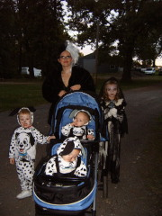 Cruella and pups
