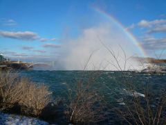Frozen Rainbow of Niagara Falls