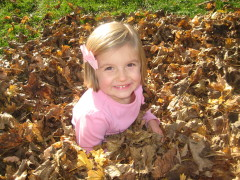 Fall Fun in the Leaves!!!